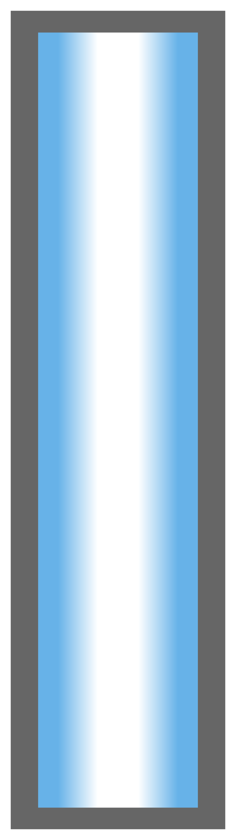 Columbia Blue-White-Columbia Blue Ombre Stripe