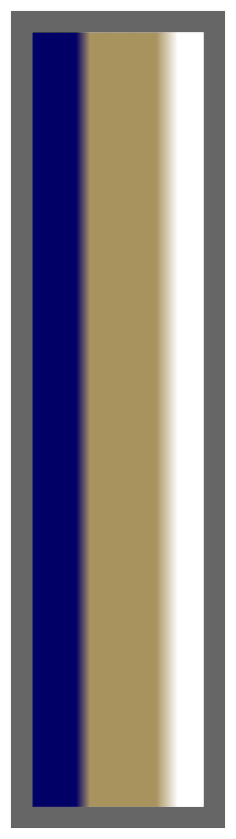 Deep Navy-Gold-White Ombre Stripe