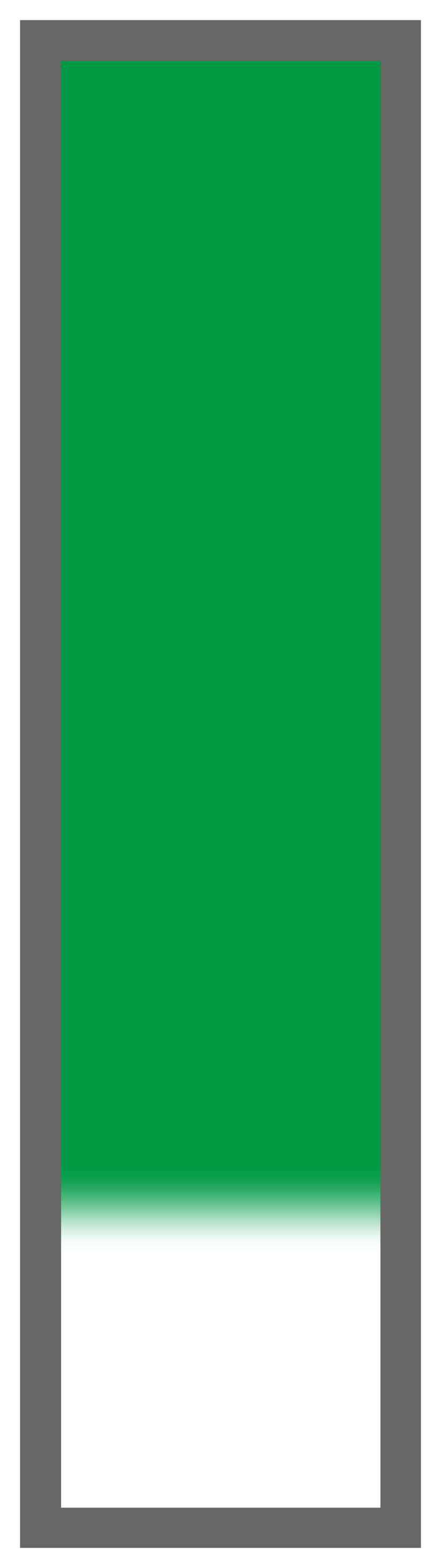 Emerald Green-White Tail