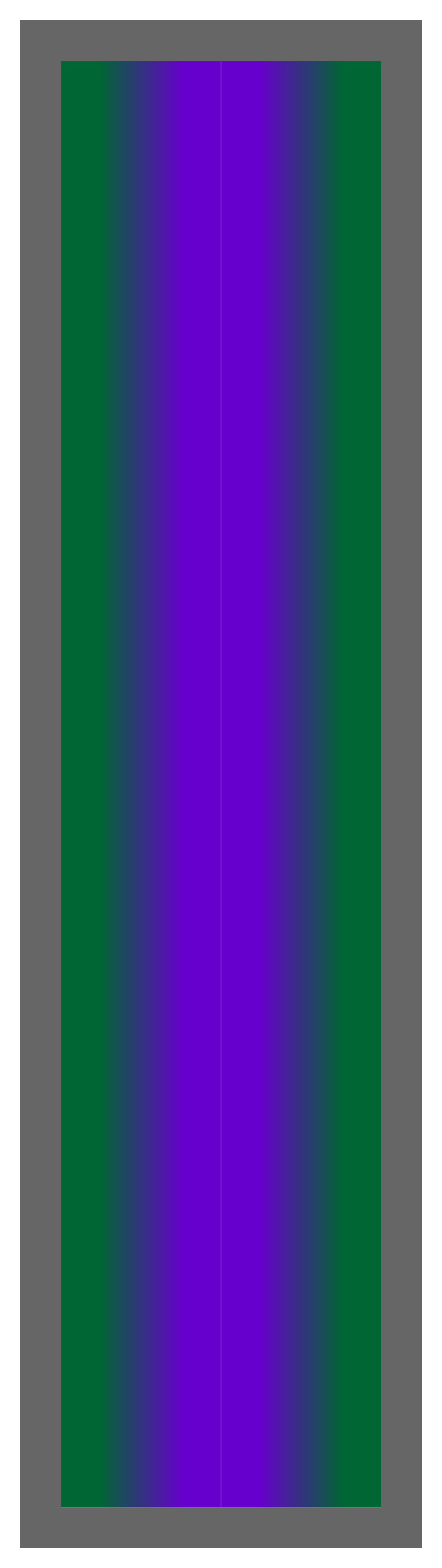 Forest Green-Purple-Forest Green Ombre Stripe