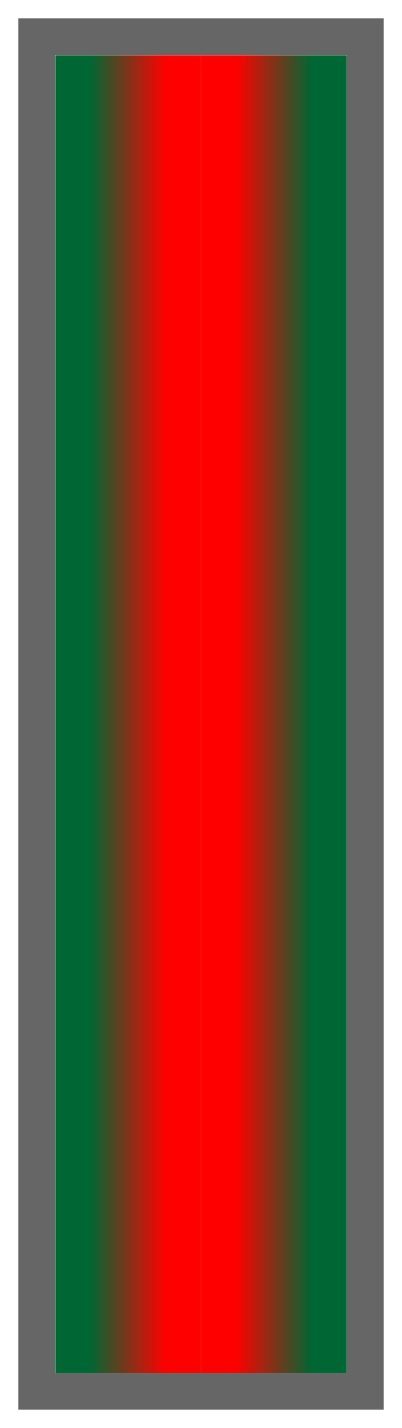 Forest Green-Red-Forest Green Ombre Stripe