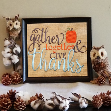 Gather Together & Give Thanks