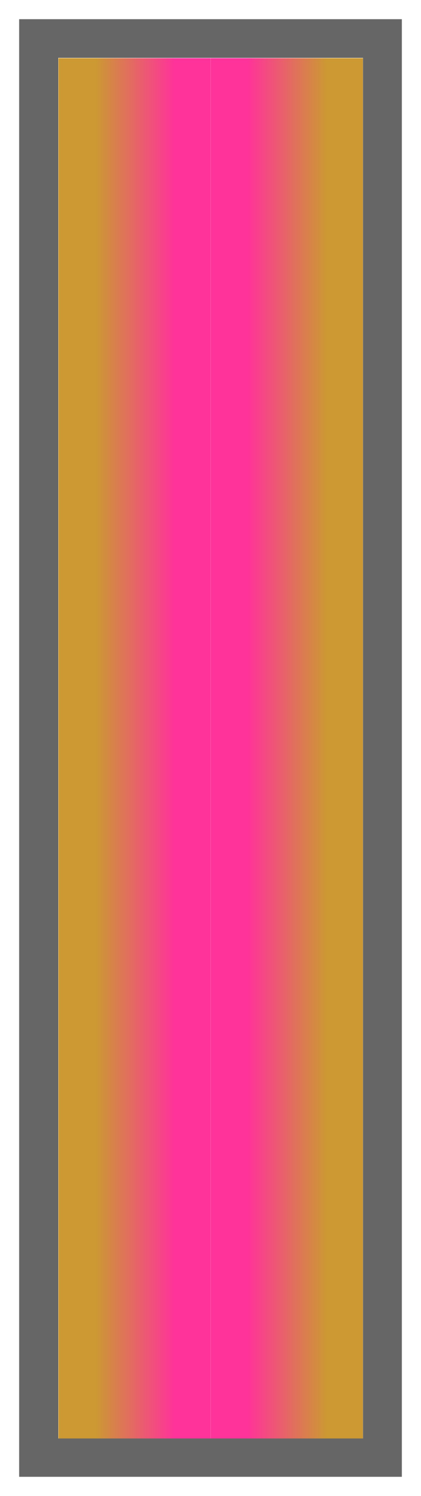 Gold-Pink-Gold Ombre Stripe