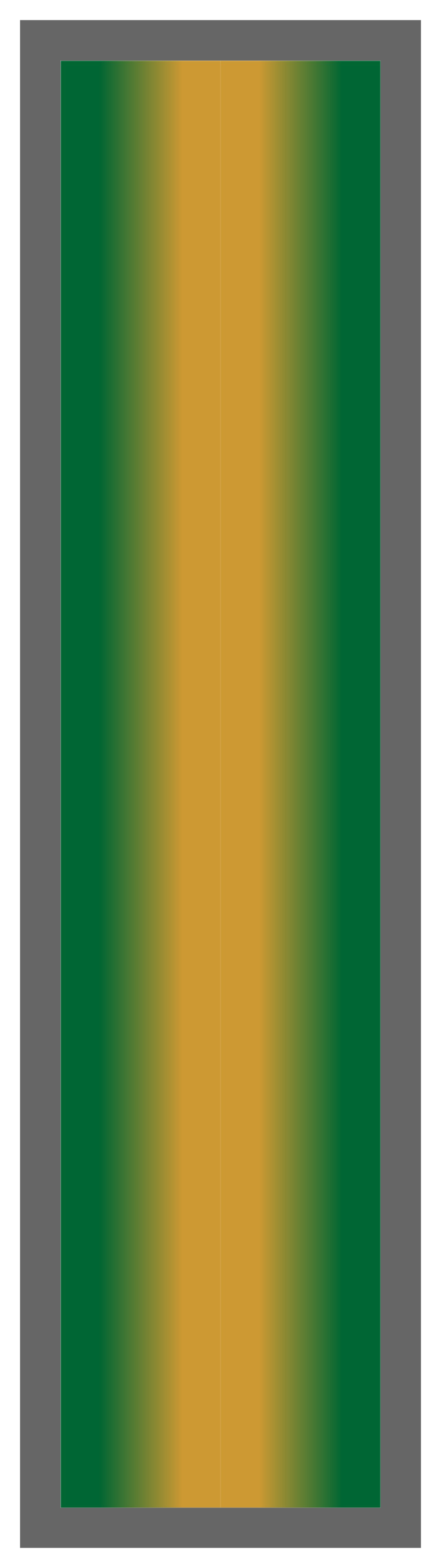 Forest Green-Gold-Forest Green Ombre Stripe