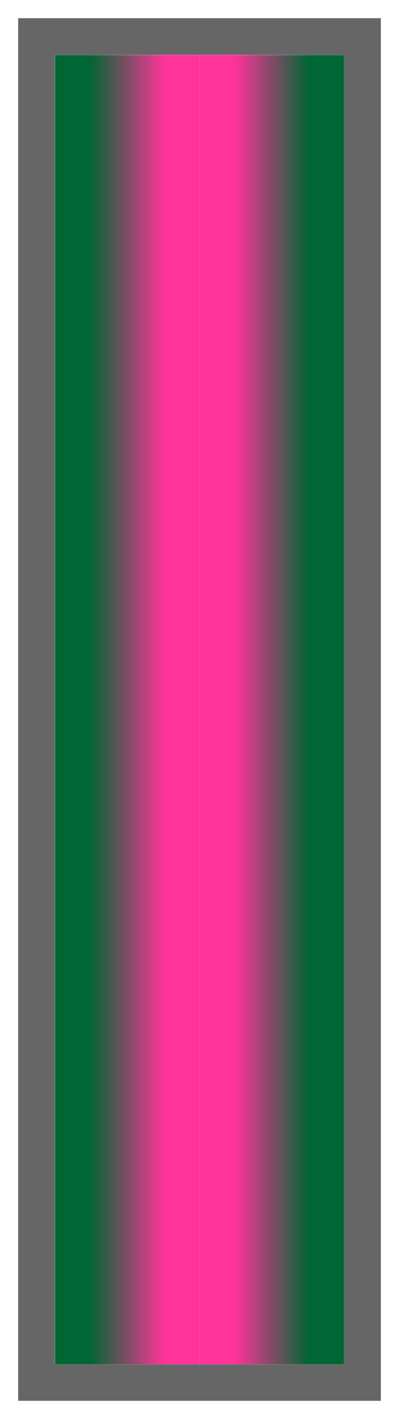 Forest Green-Pink-Forest Green Ombre Stripe