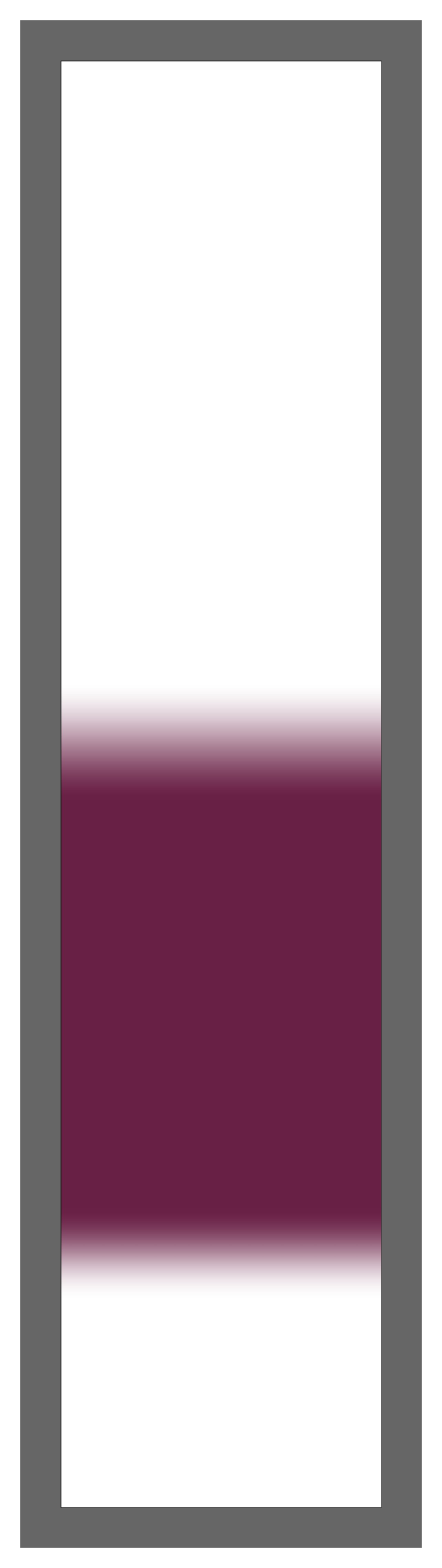 Maroon Center Ombre