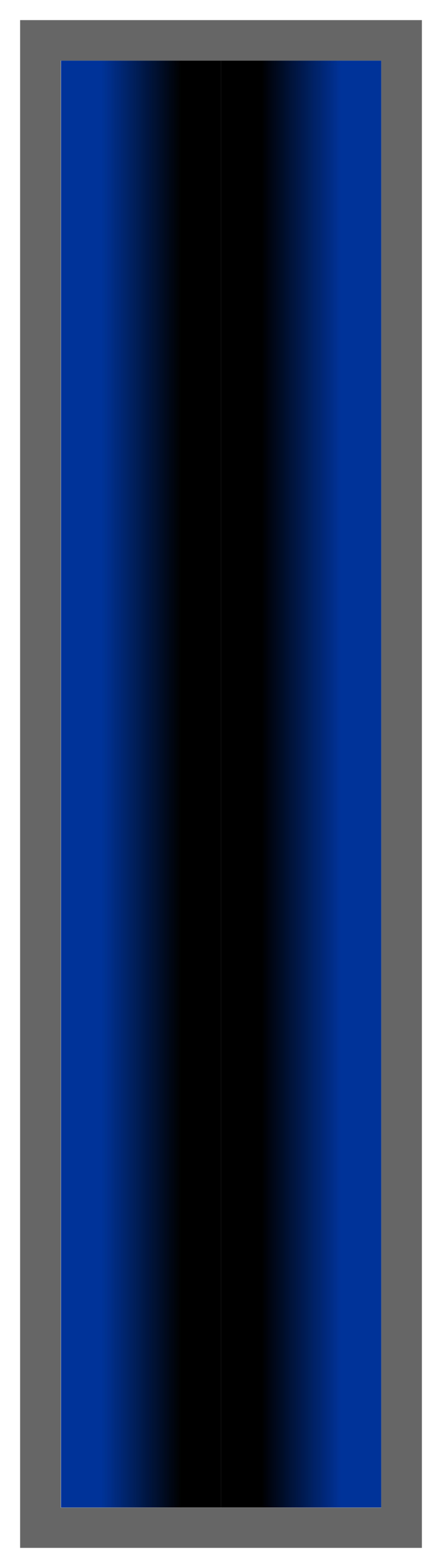Navy-Black-Navy Ombre Stripe