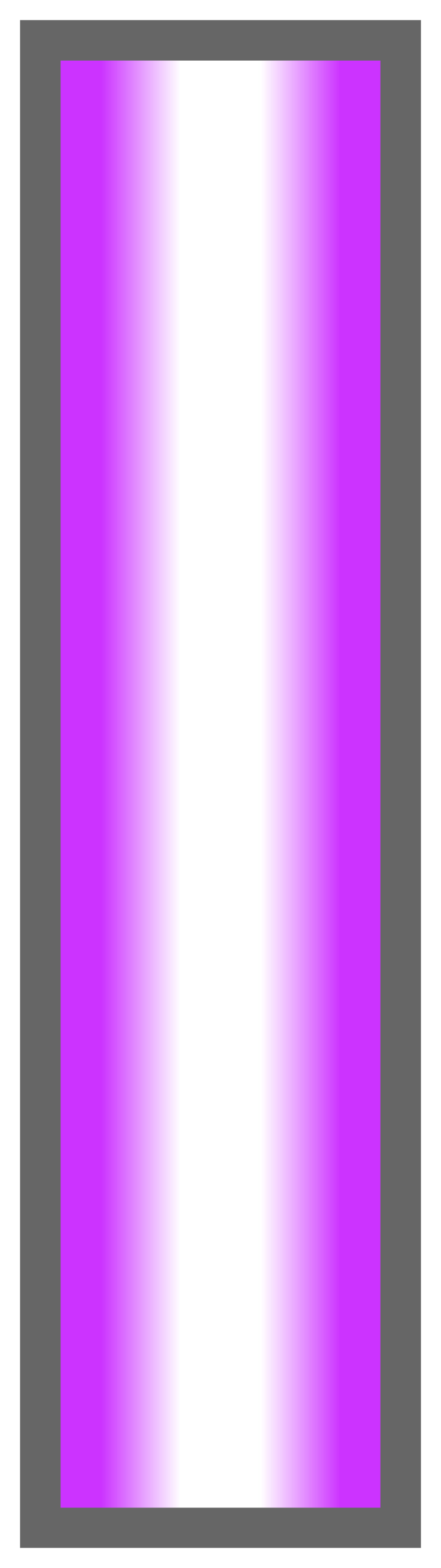 Neon Purple-White-Neon Purple Ombre Stripe