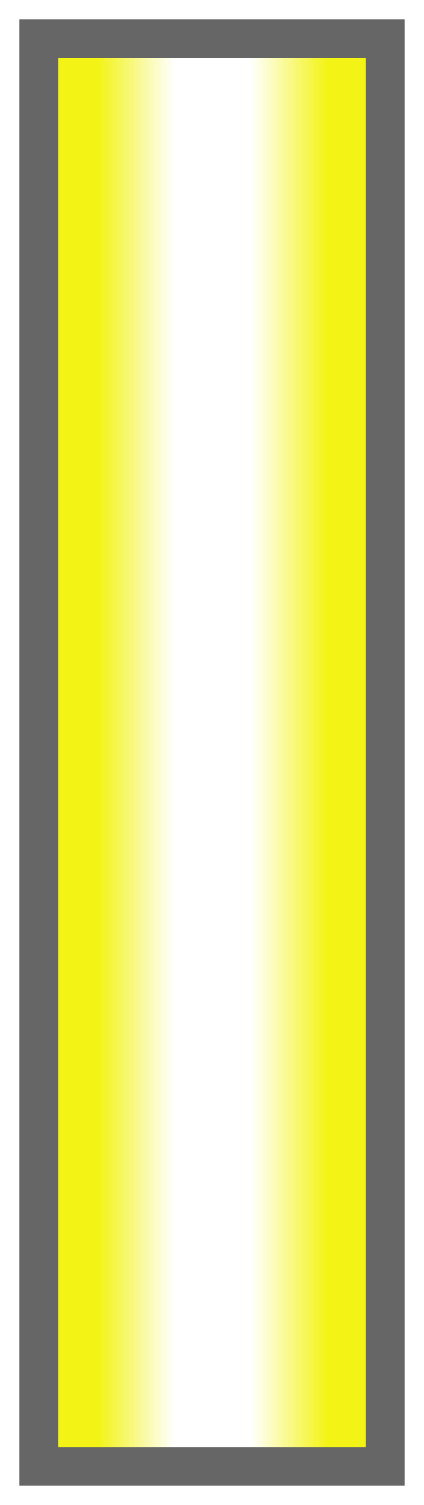 Neon Yellow-White-Neon Yellow Ombre Stripe