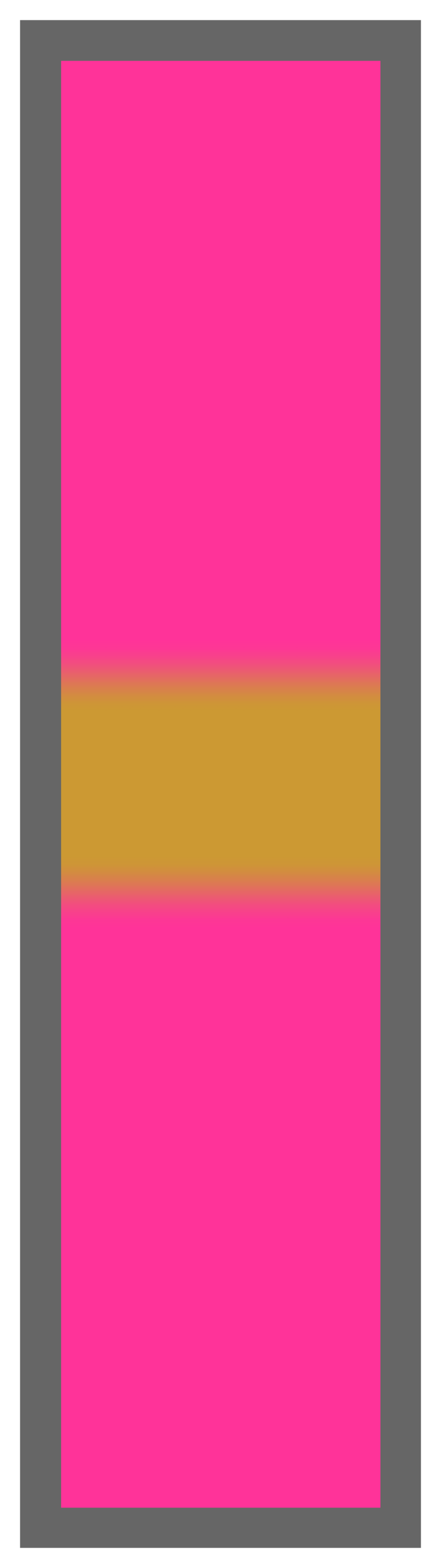 Pink-Gold Center Tailless