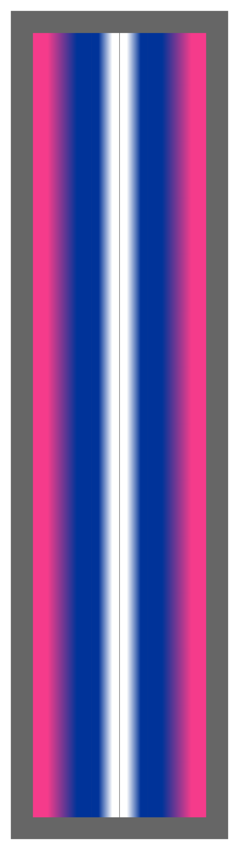 Pink-Navy-White Ombre Stripe