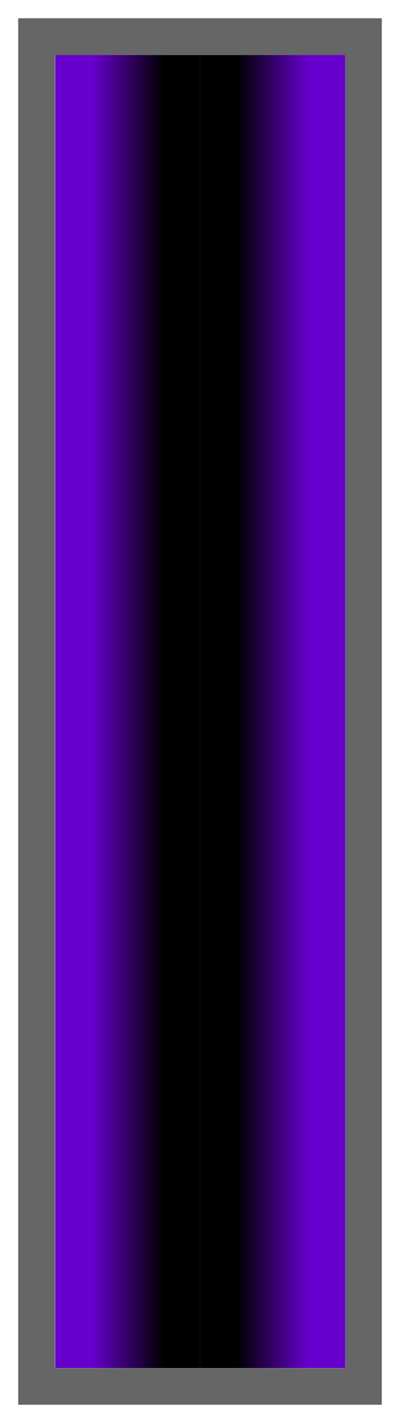 Purple-Black-Purple Ombre Stripe