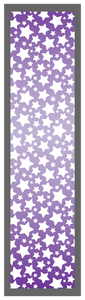 Purple-Ombre Stars