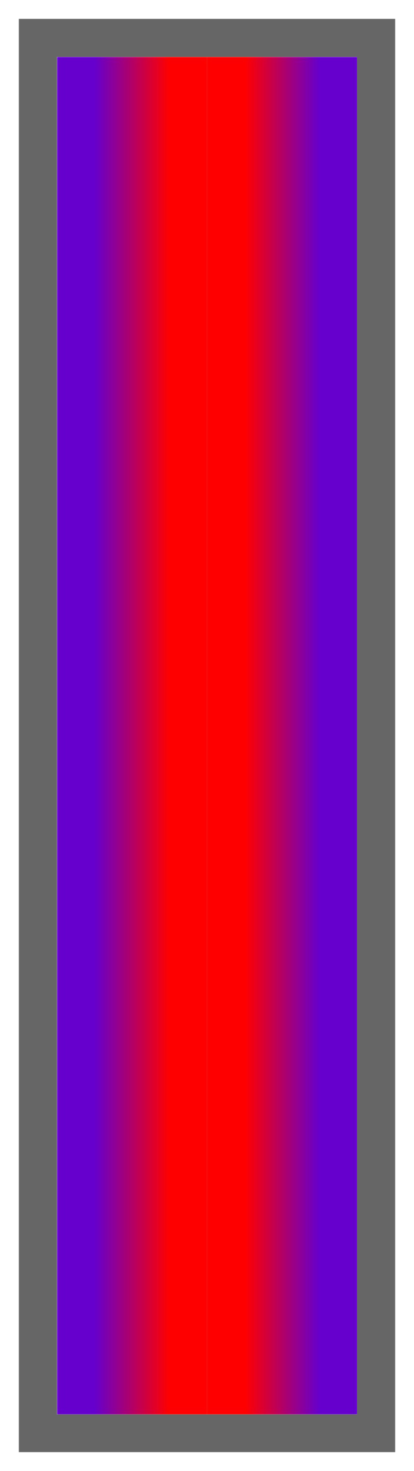Purple-Red-Purple Ombre Stripe