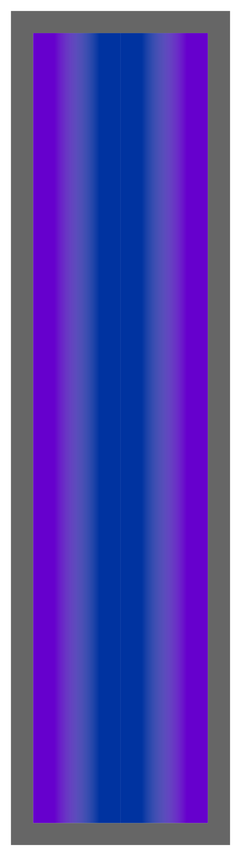 Purple-Royal Blue-Purple Ombre Stripe