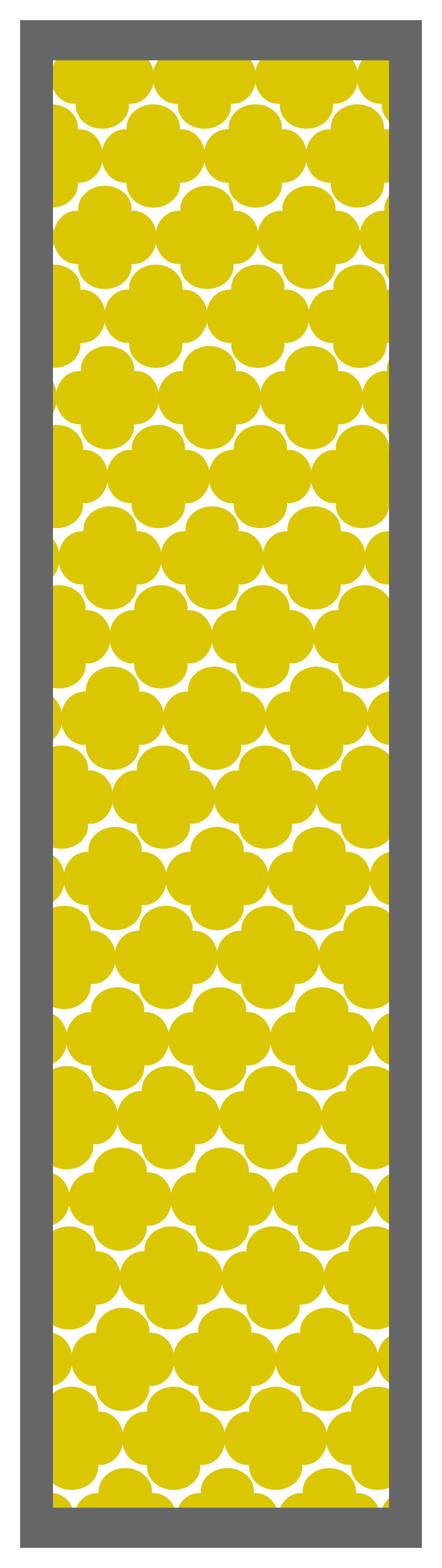 Quatrefoil-Yellow