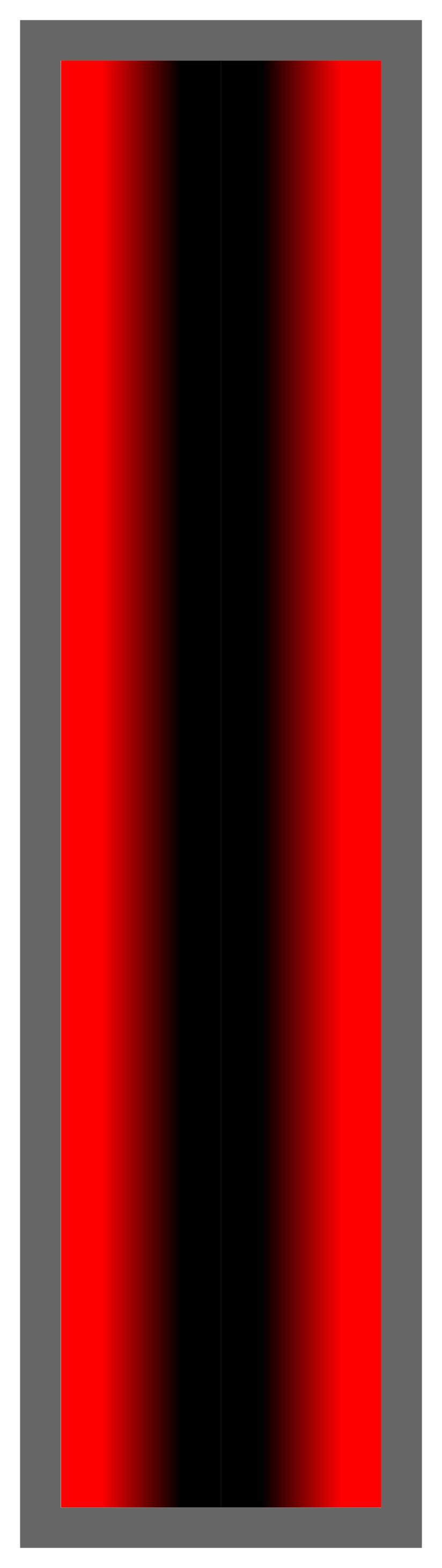 Red-Black-Red Ombre Stripe