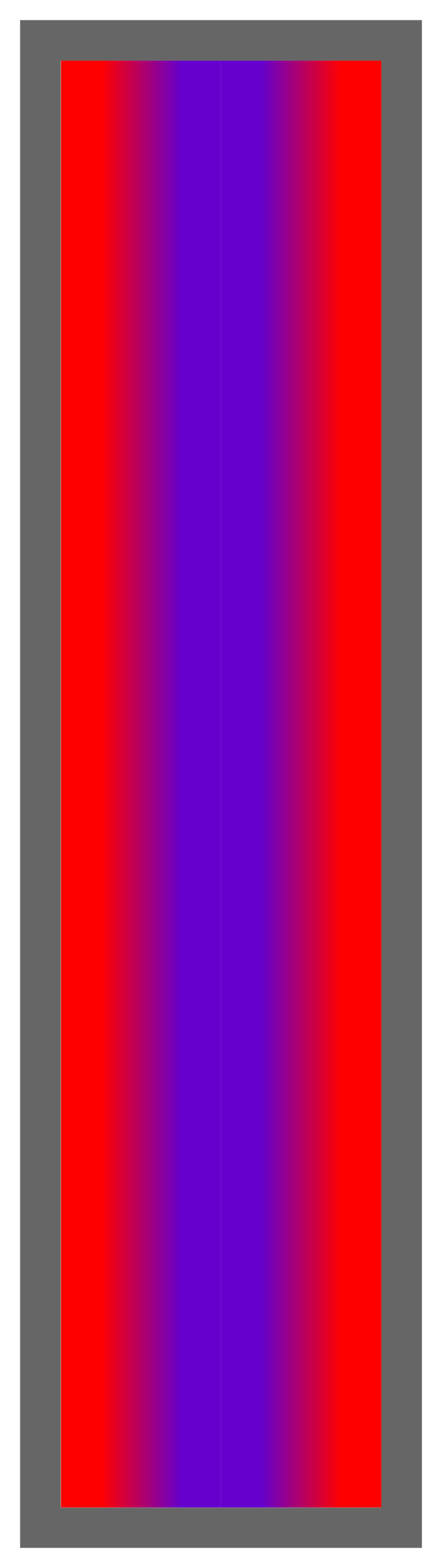 Red-Purple-Red Ombre Stripe