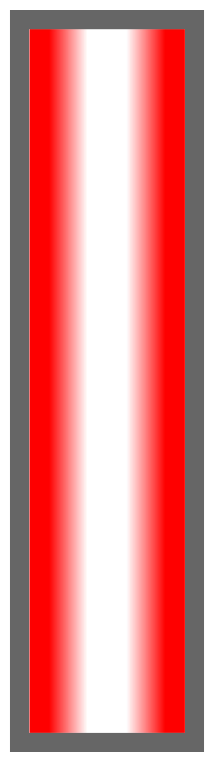 Red-White-Red Ombre Stripe