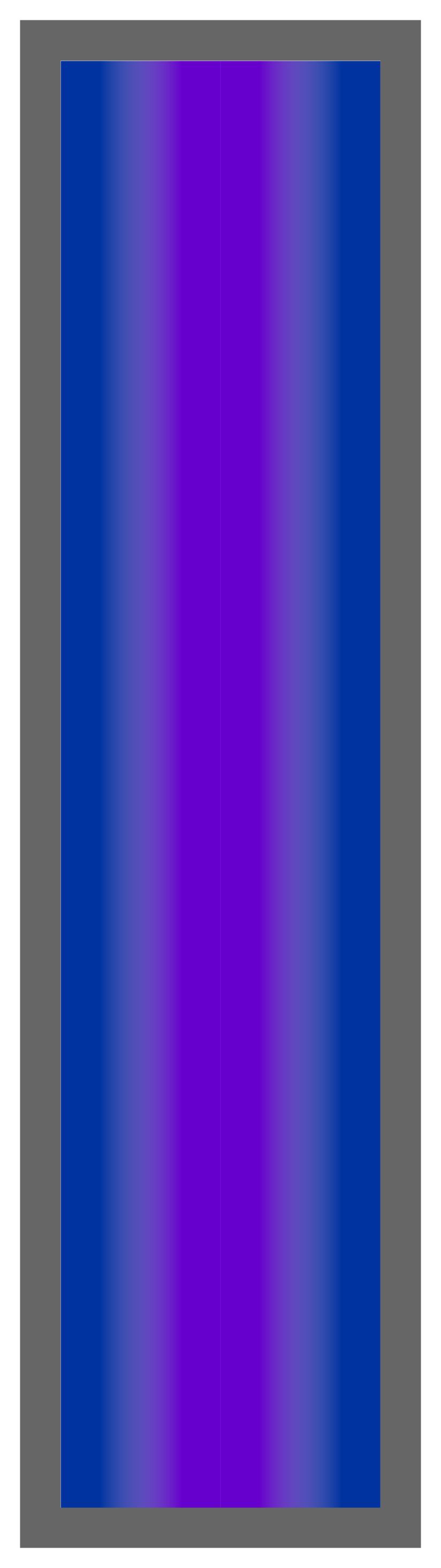Royal Blue-Purple-Royal Blue Ombre Stripe