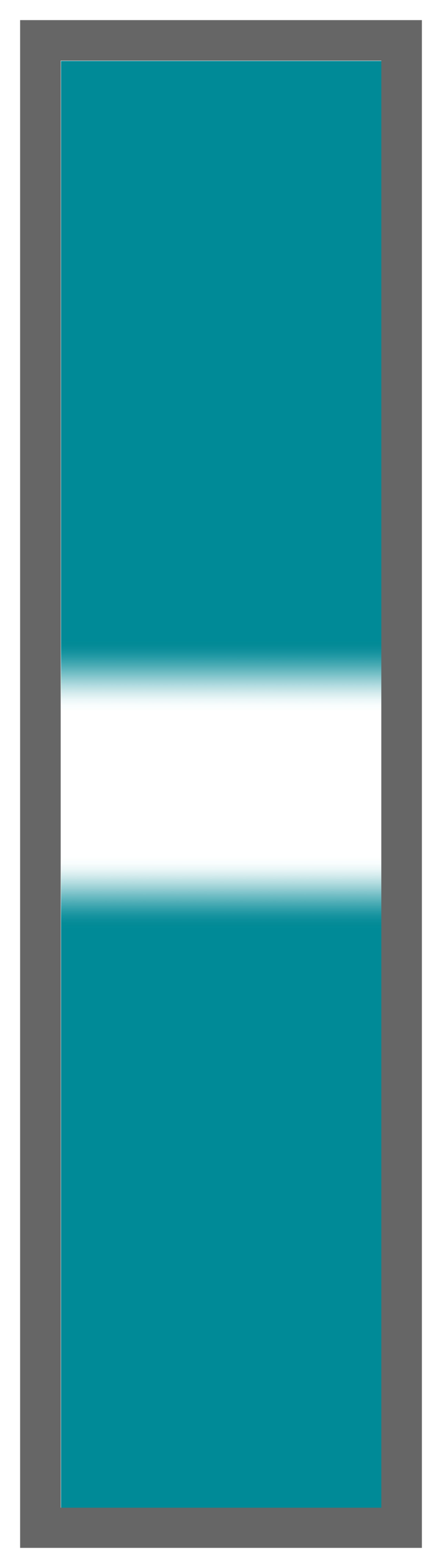 Teal-White Center Tailless