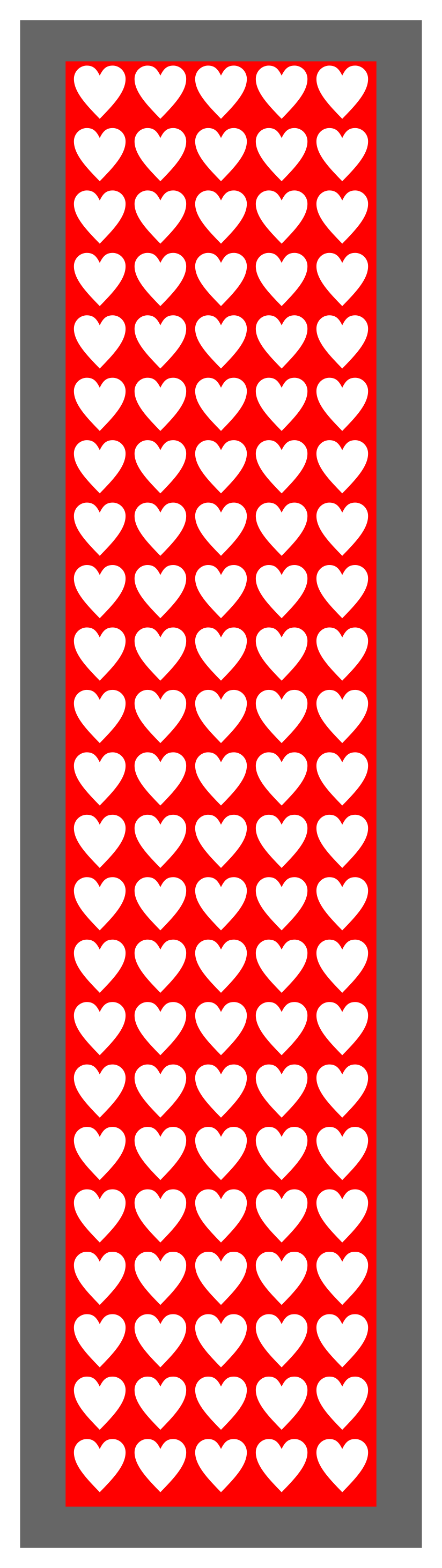 Valentine Design-Red-White-2