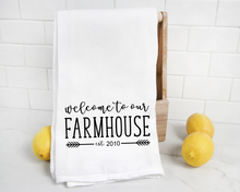 Load image into Gallery viewer, Welcome to our farmhouse