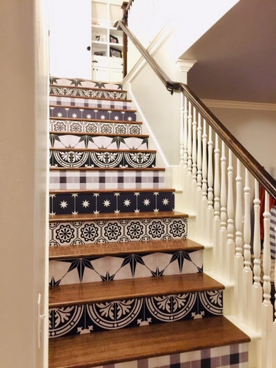 A Stunning Staircase Makeover for under $120.00 - Oklahoma US