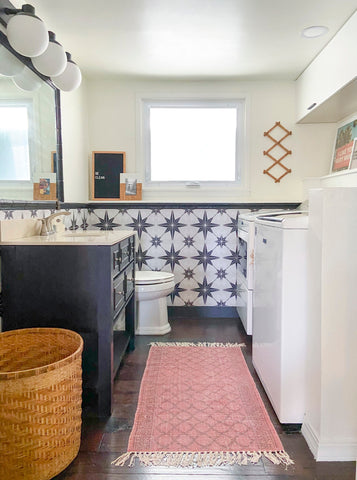 Midwest Eclectic's Laundry Room Makeover