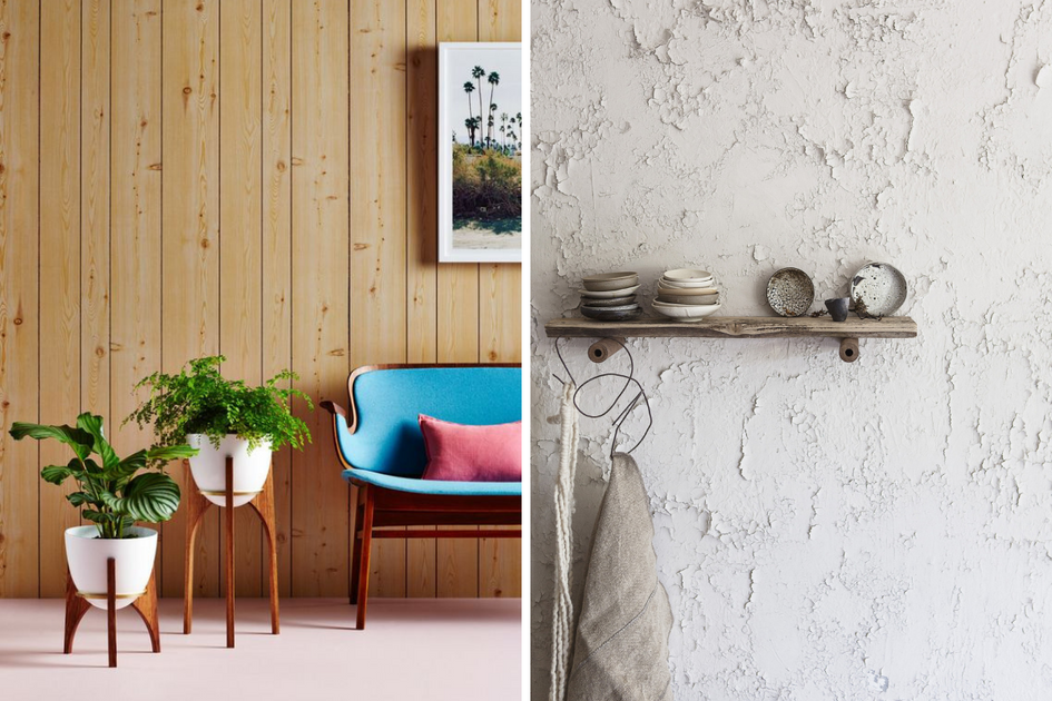 How To Cover Textured Walls With Stick On Vinyl Wallpaper Quadrostyle