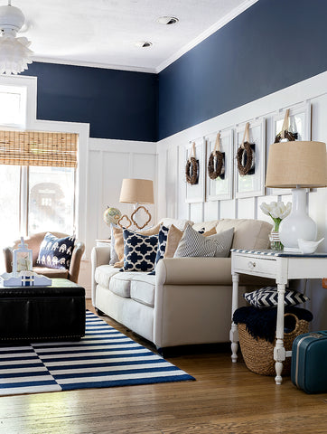 Nuts About Navy: Get This Season's Hottest Decor Trend in Your Home