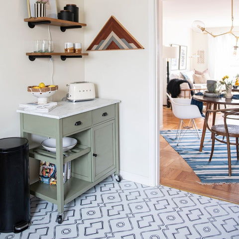 San Francisco Beach Apartment Gets a Renter-Friendly Kitchen Upgrade