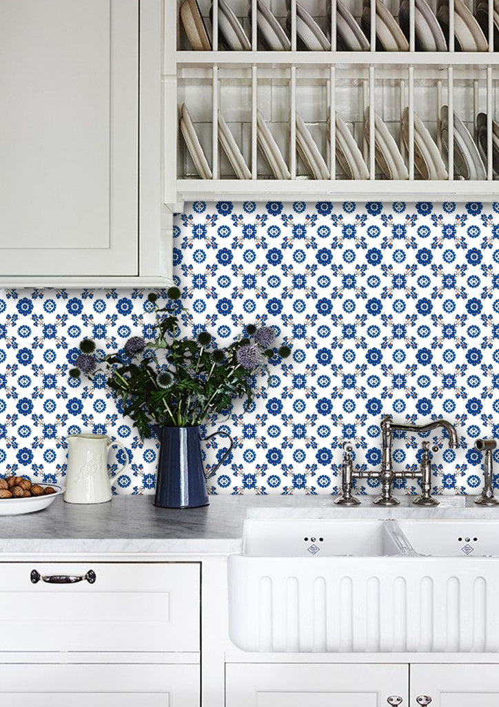 Cover Up Those Old Kitchen Tiles 3 Really Affordable