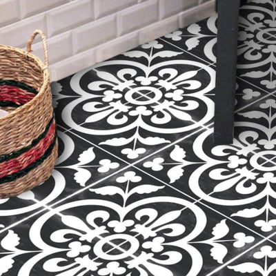 Corona Black Vinyl Tile Sticker.JPG