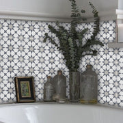 Vinyl Tile Sticker for Kitchen, Bathroom & Floors Agadir Grey