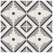 Vinyl Tile Stickers for Kitchen, Bathroom & Floors in Amadeus Grey