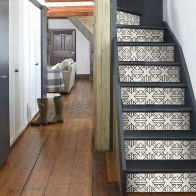 Stair Riser Stickers - Stair Riser Tile Decals - Antioche