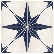 Astra in Navy Vinyl Tile Sticker