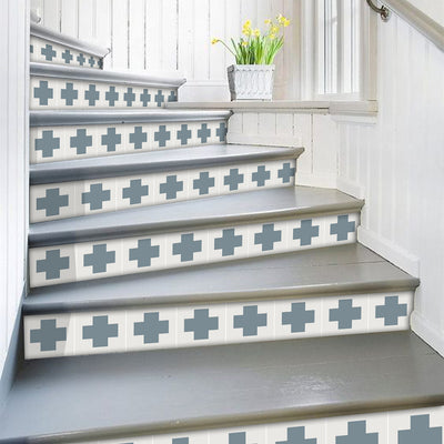 Stair Riser Stickers - Stair Riser Tile Decals - Bigalow