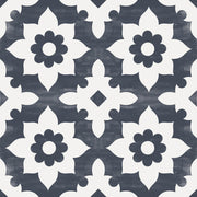 Tile Sticker for Kitchen, Bathroom & Floors in Campagne Navy