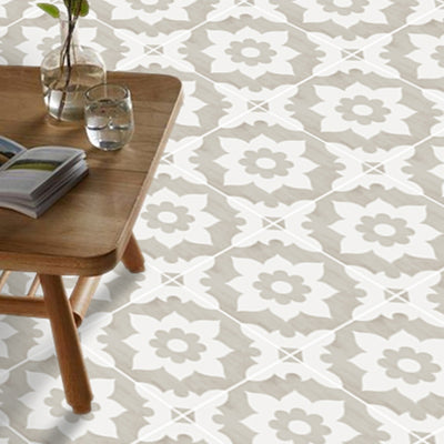 Vinyl Floor Tile Sticker - Campagne Sand