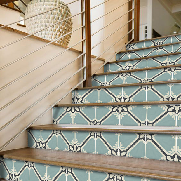 Samsara in Celadon Stair Riser Stickers