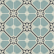 Vinyl Tile Sticker Splash back - Removable Vinyl Wall Decal Samsara Celadon