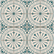 Chiave in Teal Vinyl Tile Sticker