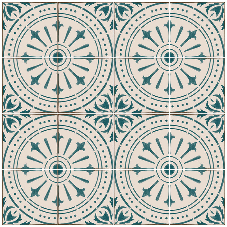 Chiave in Teal Wallpaper