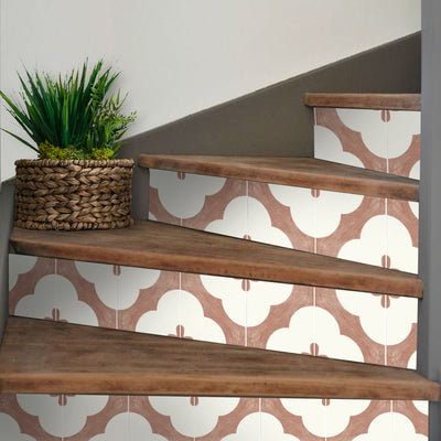 Claude in Sienna Stair Riser Stickers