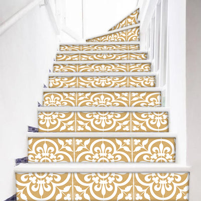 Corona in Gold Stair Riser Stickers