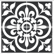 Corona in Black Vinyl Tile Sticker