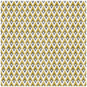 Diamond  in Mustard Wallpaper