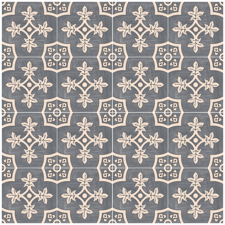 Palma in Fonte Grey Wallpaper